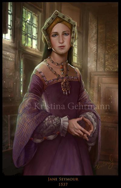 Tudor Queens 3 - Jane Seymour by KristinaGehrmann