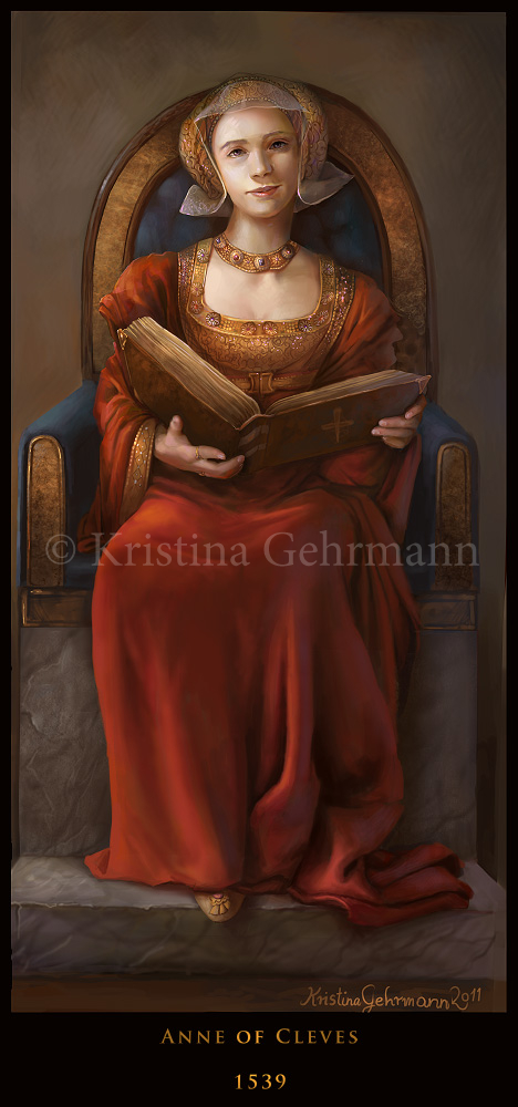 TudorQueens 4 - Anne of Cleves by KristinaGehrmann