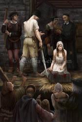 TheExecution of Lady Jane Grey by KristinaGehrmann