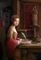 Tudor Queens 7 - The Lady Mary by KristinaGehrmann