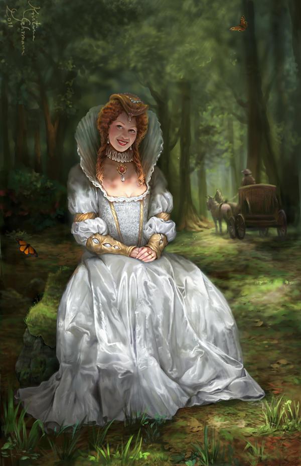 Tudor Queens 8 - Elizabeth I by KristinaGehrmann
