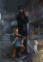 Tintin in Tchernobyl