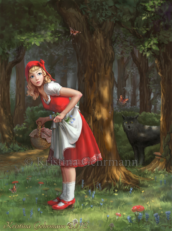 Grimm Fairy Tales Little Red Riding Hood Grimm's Fai...