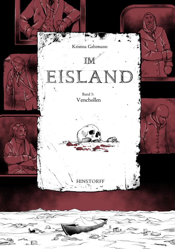 Im Eisland -- vol. 3 -- graphic novel cover by KristinaGehrmann
