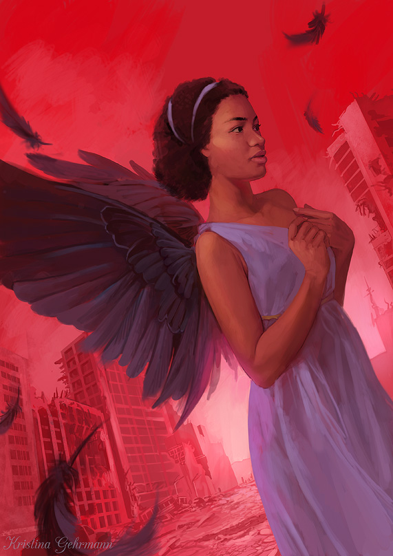 Apocalyptic Angel by KristinaGehrmann