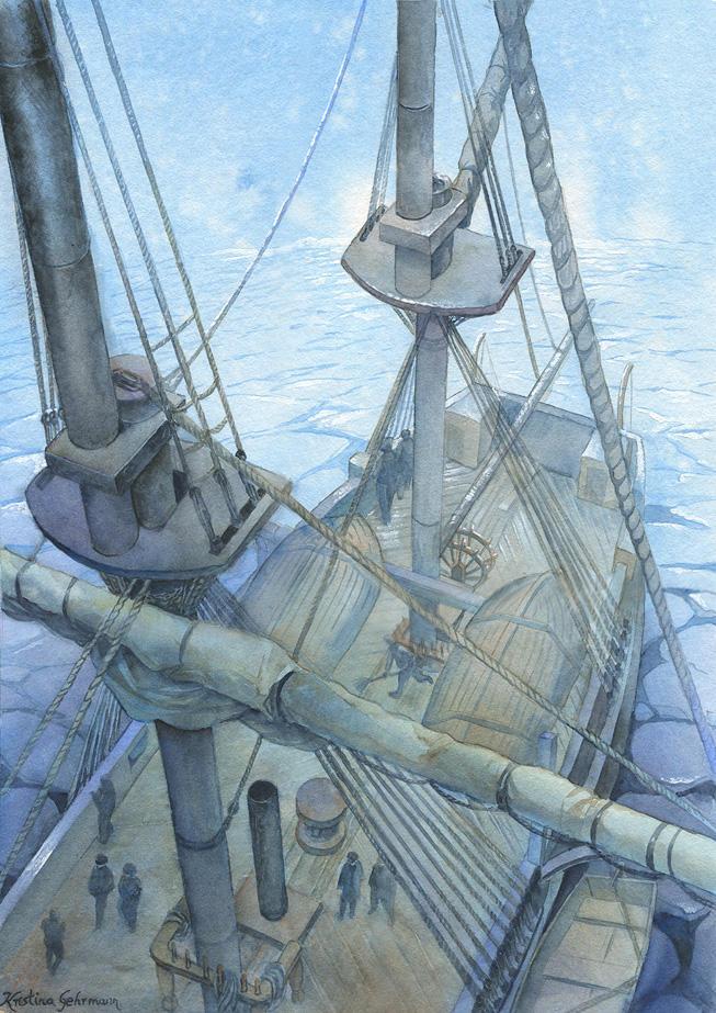 Arctic Seas by KristinaGehrmann