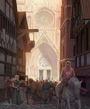 Book cover - Geheimnisvolle Welt des Mittelalters