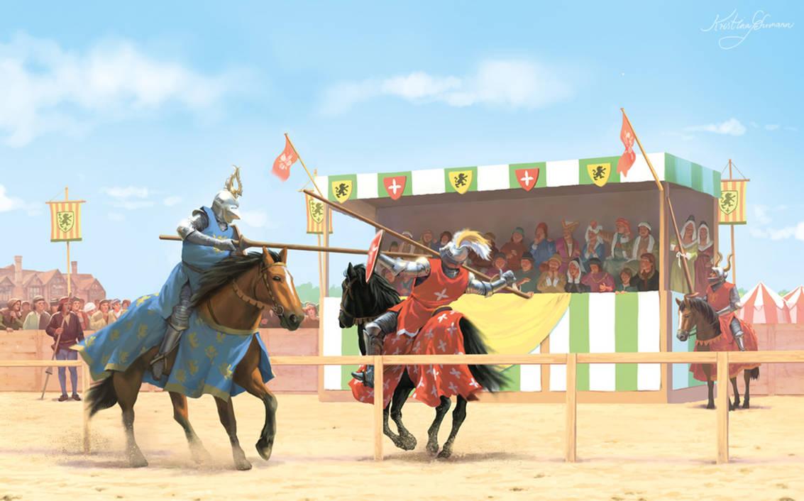 15th century joust