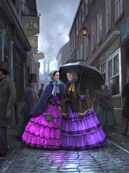 Victorian Girlfriends, or: The New Colors of 1858