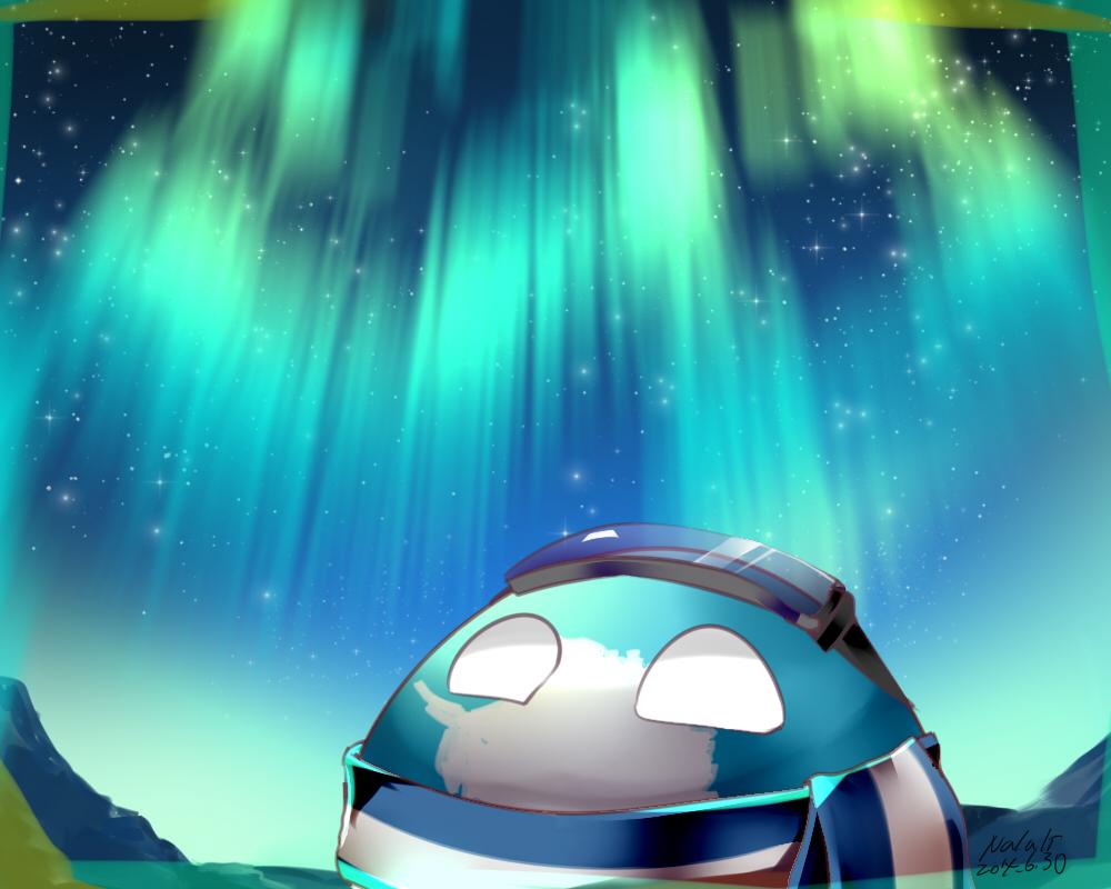 AntarcticaBall by ninteamai
