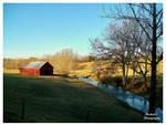 Peaceful Day On The Farm