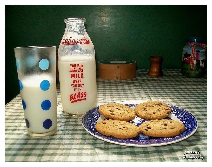 Milk and Cookies at Grandma's