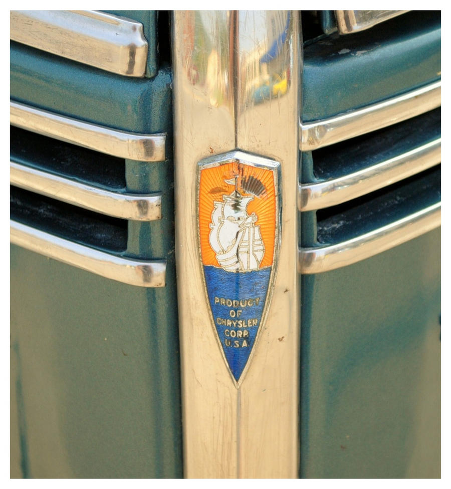 1940 Plymouth Badge by