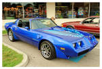 Cool Blue Trans Am