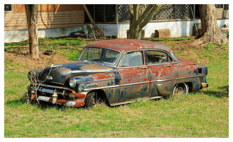 An Old Rusty Chevy by TheMan268 on DeviantArt