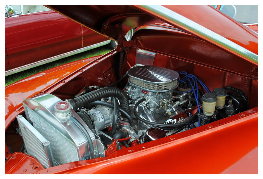 1948 Plymouth Coupe Engine By Theman268 On Deviantart