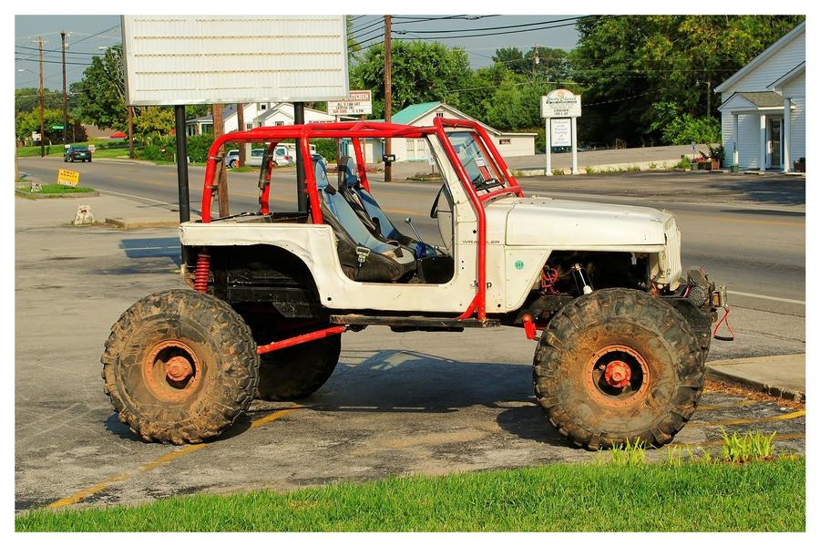 Rock Crawler Art : A jeep rock crawler by theman on deviantart