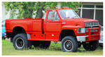 A Ford F-600 Truck