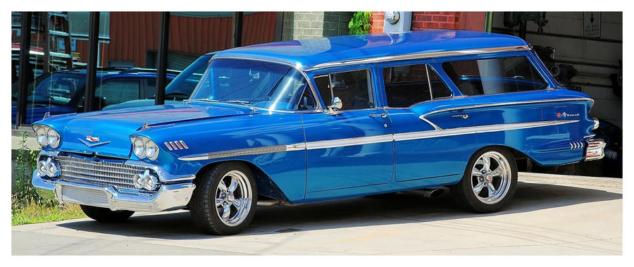 """A 58"""" Chevy Station Wagon by TheMan268"""