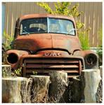 Rusty GMC Truck