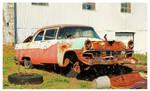 A Rusty Ford Car