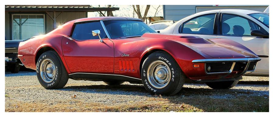 A Corvette Stingray by TheMan268