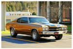 A Golden Chevelle SS
