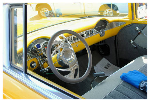 1956 Chevy Interior