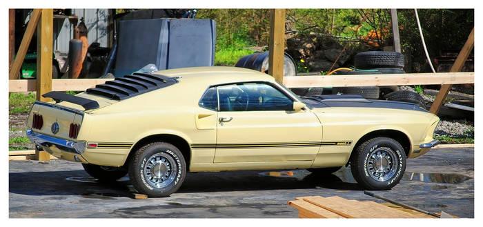 1969 Mach 1 Mustang