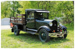 Old Ford 1 1/2 Ton Flatbed Truck