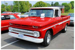 A Sharp Red Chevy Truck