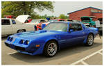 A Cool Blue Trans Am