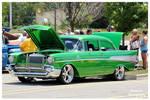 Grass Green 57' Chevy