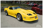 Tommy's Yellow Corvette