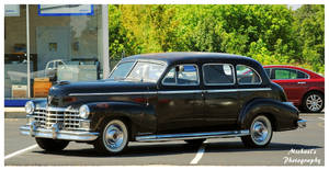 A 1947 Cadillac Limo