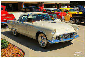 A 1956 Ford Thunderbird by TheMan268
