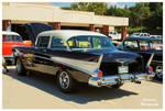 A Black 1957 Chevy