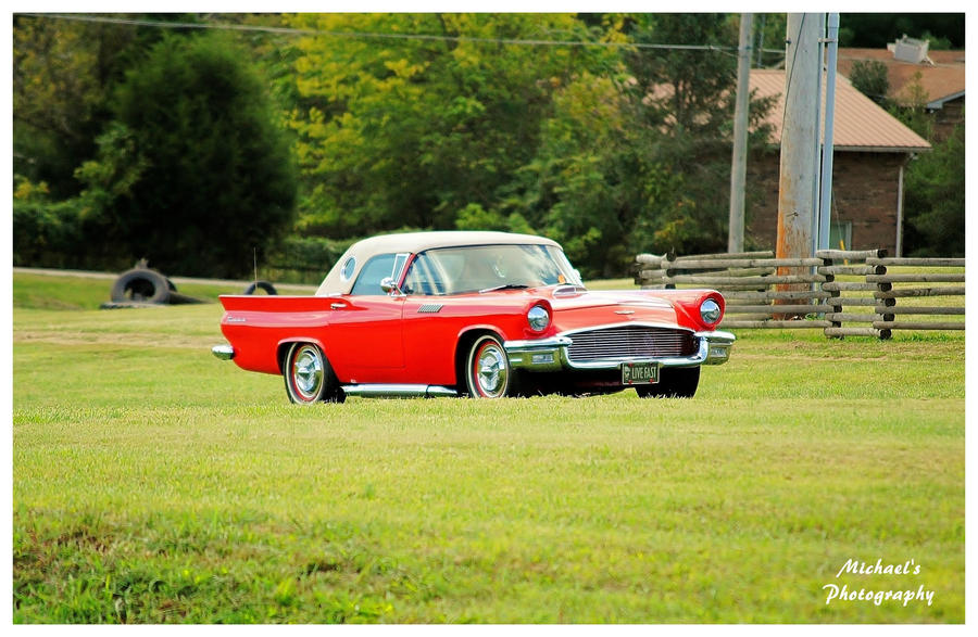 A Nice Red Thunderbird by TheMan268