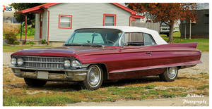 A 1962 Cadillac Convertible