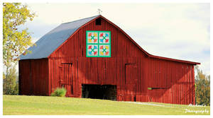 A Red Quilt Trail Barn by TheMan268