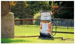 An Old Exxon Farm Gas Pump