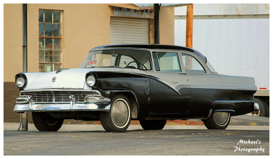 A 1956 Ford Fairlane by TheMan268