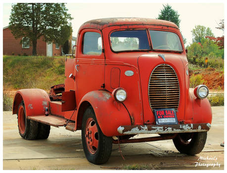 A Ford 85 Truck
