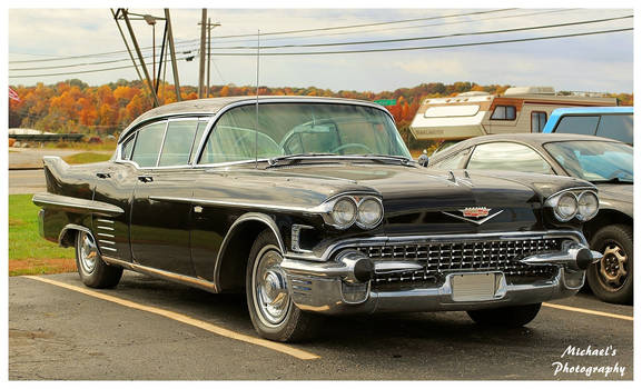 A Cool Black Cadillac