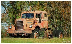 A White Diesel Truck by TheMan268
