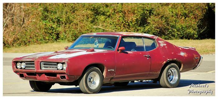 A Pontiac GTO
