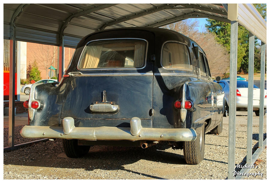 A 1954 Packard Henney Hearse by TheMan268