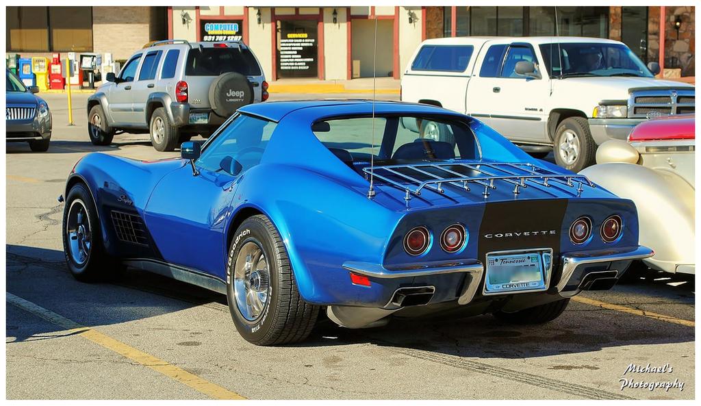 A 1971 Corvette Stingray by TheMan268