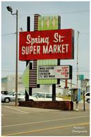 Spring Street Super Market by TheMan268