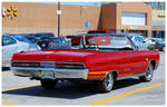A Plymouth Sport Fury Convertible